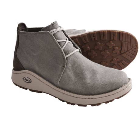 Chaco Otis Canvas Boots (For Men) in Shitake