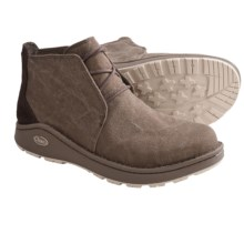 Chaco Otis Canvas Boots (For Men) in Shitake - Closeouts
