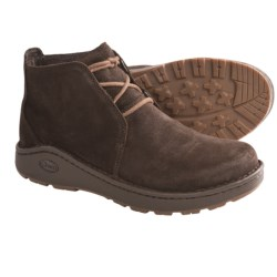 Chaco Otis Chukka Boots - Waxy Suede (For Men) in Chocolate Brown