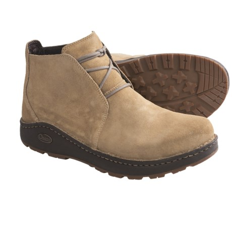 Chaco Otis Chukka Boots - Waxy Suede (For Men) in Incense