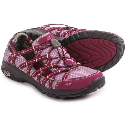 Chaco OutCross Evo Free Water Shoes (For Women) in Malbec - Closeouts