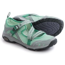 Chaco OutCross Evo Mary Jane Water Shoes (For Women) in Misty Jade - Closeouts