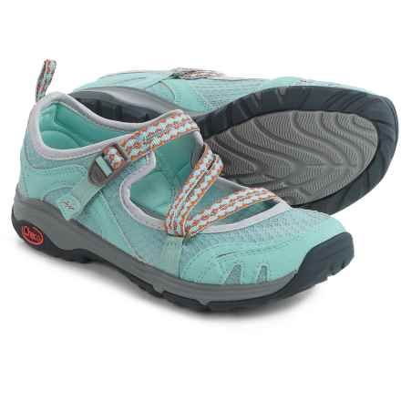 Chaco OutCross Evo Mary Jane Water Shoes (For Women) in Quito Blue - Closeouts