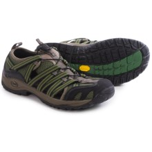 Chaco Outcross Pro Lace Water Shoes - Vibram® Outsole (For Men) in Trail Forest - Closeouts