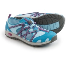Chaco OutCross Water Shoes (For Big Kids) in Blue Crystal - Closeouts