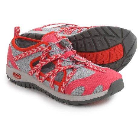 Chaco OutCross Water Shoes (For Big Kids) in Fiesta Rose