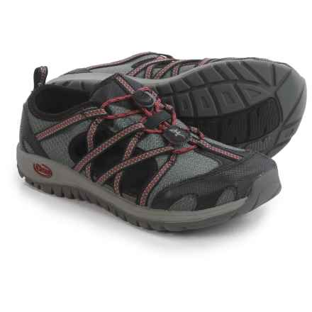 Chaco OutCross Water Shoes (For Big Kids) in Gunmetal - Closeouts