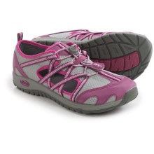 Chaco OutCross Water Shoes (For Big Kids) in Violet Quartz - Closeouts