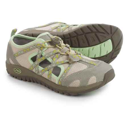 Chaco OutCross Water Shoes (For Big Kids) in York Aluminum - Closeouts