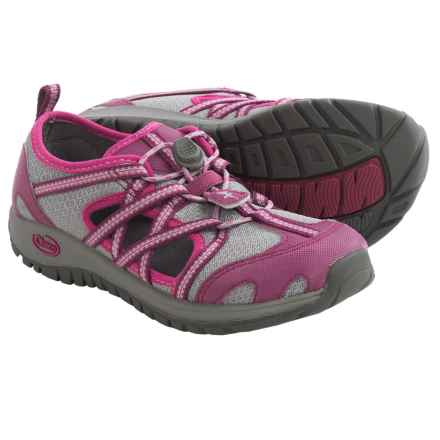 Chaco OutCross Water Shoes (For Little Kids) in Violet Quartz - Closeouts