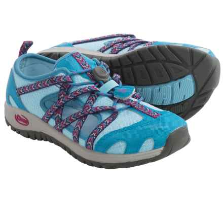 Chaco OutCross Water Shoes (For Toddlers) in Blue Crystal - Closeouts