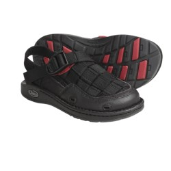 Chaco Paradox EcoTread Sandals - Recycled Materials (For Kids and Youth) in Chive/Scribble
