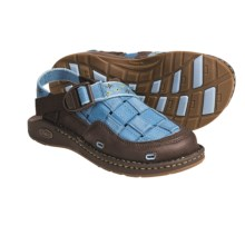 Chaco Paradox EcoTread Sandals - Recycled Materials (For Kids and Youth) in Bluejay/Starburst - Closeouts