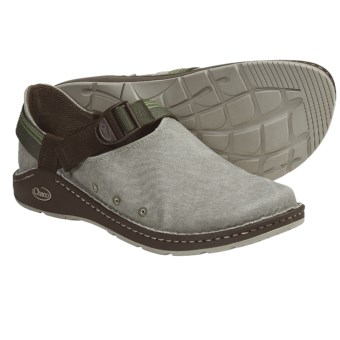 Chaco Pedshed Canvas Shoes (For Men) in Bay Leaf