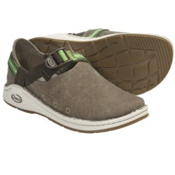 Chaco Pedshed Canvas Shoes (For Women) in Lush