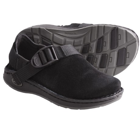 Chaco Pedshed EcoTread Shoes - Slip-Ons (For Kids) in Black