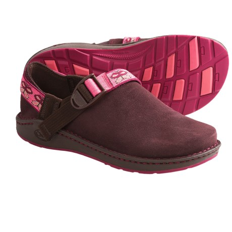 Chaco Pedshed EcoTread Shoes - Slip-Ons (For Youth Boys and Girls) in Fig