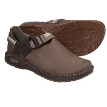 Chaco Pedshed Gunnison Clogs - Leather (For Women) in Shitake/Whisper - Closeouts