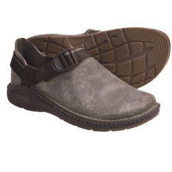 Chaco PedShed Shoes - Waxed Suede (For Men) in Chocolate Brown/Dynamic Rust Smooth