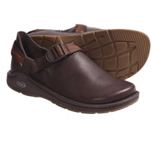 Chaco PedShed Shoes - Waxed Suede (For Men) in Chocolate Brown/Dynamic Rust Smooth - Closeouts