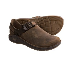 Chaco PedShed Shoes - Waxed Suede (For Men) in Leather Brown/Redlands - Closeouts