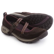 Chaco Petaluma MJ Shoes - Suede (For Women) in Coffee Bean - Closeouts