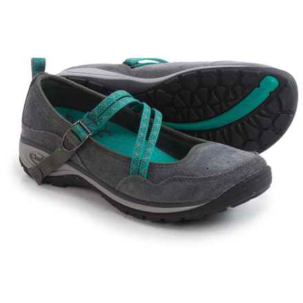 Chaco Petaluma MJ Shoes - Suede (For Women) in Gunmetal - Closeouts