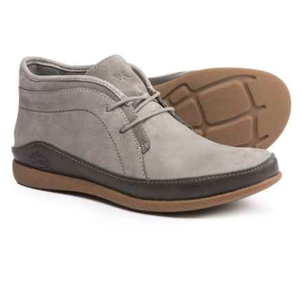 Chaco Pineland LUVSEAT® Chukka Boots - Leather (For Women) in Nickel Gray - Closeouts