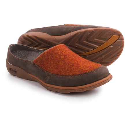 Chaco Quinn Shoes - Slip-Ons (For Women) in Brick Red - Closeouts