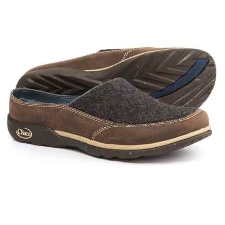 Chaco Quinn Shoes - Slip-Ons (For Women) in Charcoal - Closeouts