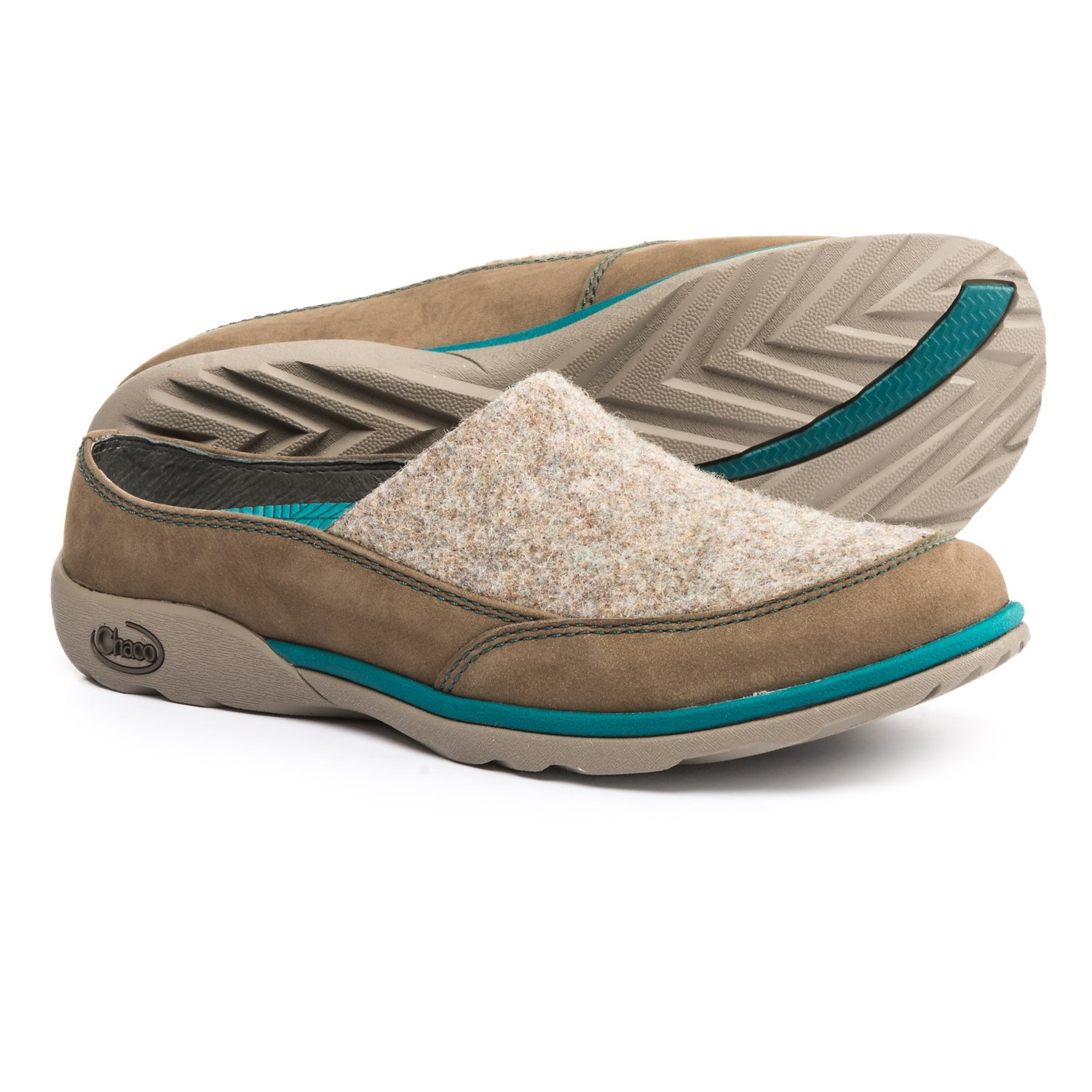 Chaco Quinn Shoes Slip Ons For Women In Sandstone Closeouts