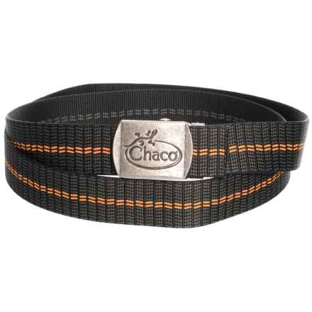Chaco Reversibelt Reversible Webbing Belt (For Men and Women) in Traffic Orange - Closeouts