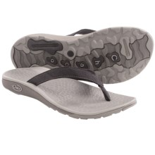 Chaco Reversiflip Flip-Flop Sandals (For Women) in Black - Closeouts