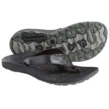 Chaco Reversiflip Flip-Flops (For Women) in Black Two - Closeouts