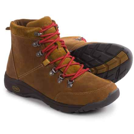 Chaco Roland Boots - Leather  (For Men) in Bronze Brown - Closeouts