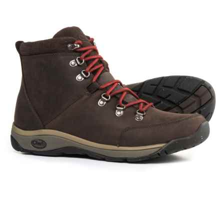 Chaco Roland Boots - Leather  (For Men) in Coffee Bean - Closeouts