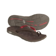 Chaco Shift Ecotread Thong Sandals (For Women) in Garden Pink - Closeouts