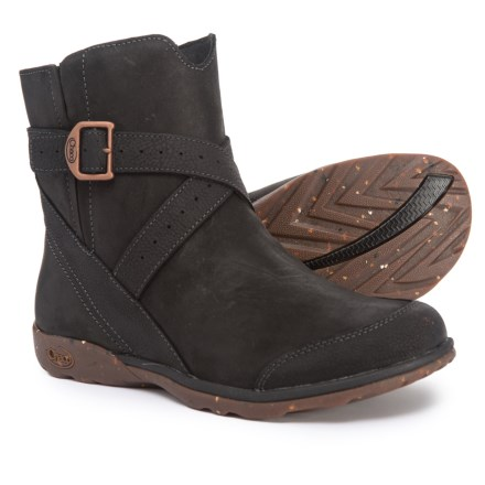 54e8b1f05013 Clearance. Chaco Skye Boots - Leather (For Women) in Black