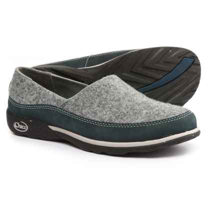 Chaco Sloan Shoes - Slip-Ons (For Women) in Blue Steel - Closeouts