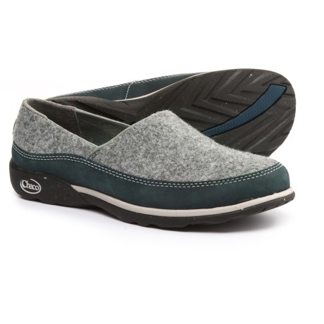 Chaco Sloan Shoes - Slip-Ons (For Women) in Blue Steel