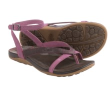Chaco Sofia Gladiator Sandals - Leather (For Women) in Violet Quartz - Closeouts
