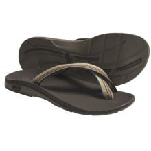 Chaco Tanana EcoTread Thong Sandals - Flip-Flops, Reycled Materials (For Women) in Carnival - Closeouts