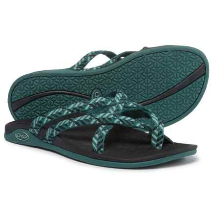 Chaco Tempest Cloud Sandals (For Women) in Origami Teal - Closeouts