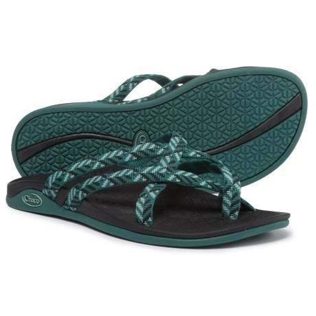 Chaco Tempest Cloud Sandals (For Women) in Origami Teal