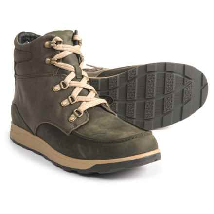 Chaco Teton Boots - Nubuck (For Men) in Olive Night - Closeouts