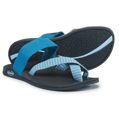 14d5a340597 Chaco Tetra Cloud Sandals (For Women) in Bluebell Eclipse