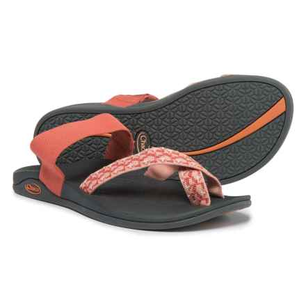Chaco Tetra Cloud Sandals (For Women) in Ginger Spice - Closeouts