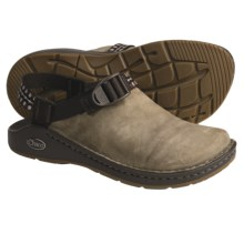 Chaco Toe Coop Clogs - Leather  (For Women) in Brindle/Winter Brown - Closeouts