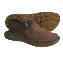 Chaco Toe Coop Clogs - Leather  (For Women) in Chocolate Brown/Stitch Brown - Closeouts