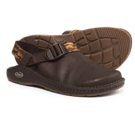 Chaco ToeCoop Leather Shoes - Vibram® Outsole, Slip-Ons (For Men) in Java - Closeouts